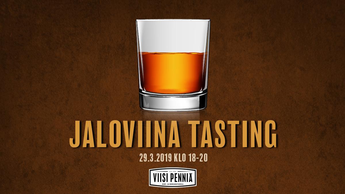 Jaloviina tasting event